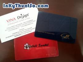 In thẻ nhựa Tp.HCM nhanh chất lượng
