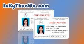 In thẻ nhựa sinh viên chất lượng cao giá rẻ tại TPHCM