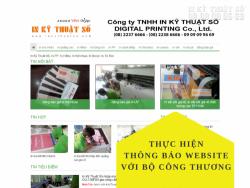 InKyThuatSo.com đã thông báo website thương mại điện tử trên online.gov.vn của Bộ Công Thương