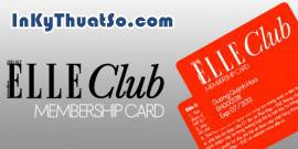Membership card ELLE Club