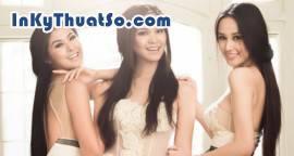 Ngây ngất trước vẻ đẹp của 3 hoa hậu Việt