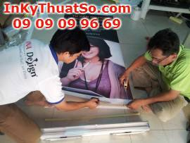 Poster trang trí cửa hàng
