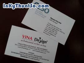 PVC trong suốt dùng in card visit kiểu dáng mới