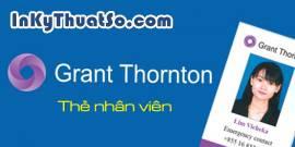 Thẻ nhân viên - Grant Thornton