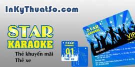Thẻ xe - Thẻ khuyến mãi Karaoke Star