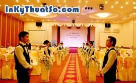 Vấn đề phục vụ tiệc trong tổ chức sự kiện