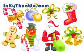 Vector trang trí cho mùa giáng sinh