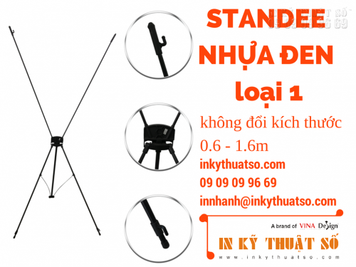 Standee nhựa đen loại 1, 759, Nhân Phong, InKyThuatso.com, 13/06/2015 11:16:38