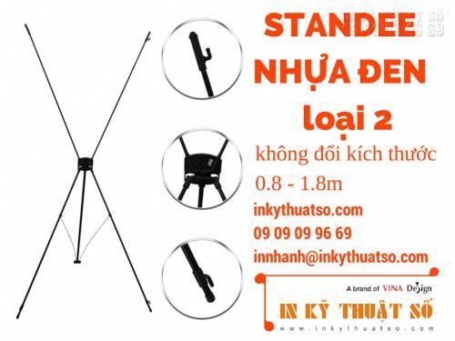 Standee nhựa đen loại 2, 760, Nhân Phong, InKyThuatso.com, 13/06/2015 11:24:38