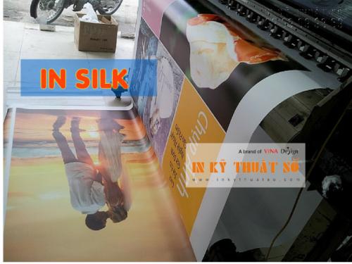 In vải silk giá rẻ chất lượng cao tại Công ty TNHH In Kỹ Thuật Số - Digital Printing
