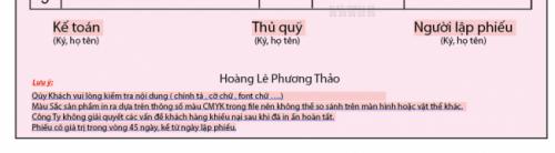 Lưu ý về Quy định về hàng hóa, dịch vụ từ In Quảng Cáo