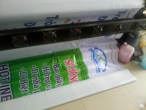In UV Hiflex (không xuyên) bạt dày 3.6mm chất lượng cao dùng làm biển quảng cáo