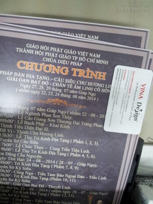 In uv bạt đế xám cho chương trình Pháp Đàn Địa Tạng của Giáo Hội Phật Giáo Việt Nam
