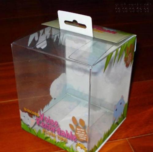 Hộp đựng đồ in UV pet dẻo có chất lượng cao