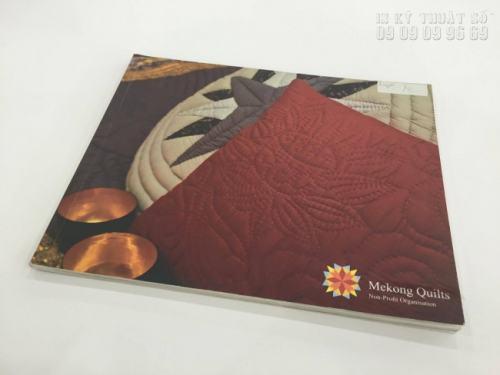 In ấn Catalogue dạng cuốn có chất lượng cao