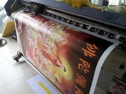 In tranh Phật bằng vải canvas cho thành phẩm đẹp, sắc nét, rõ hình