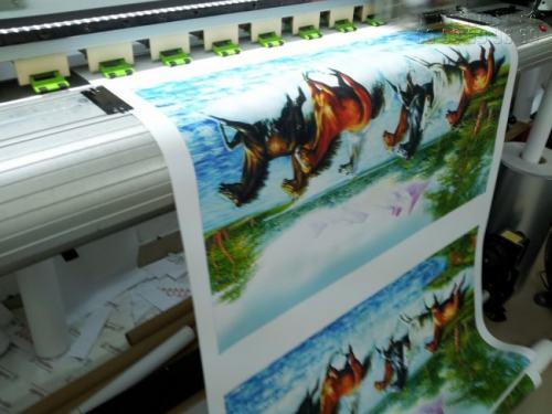 Thành phẩm in tranh sơn dầu 3D đều được in bằng công nghệ in UV và máy in khổ lớn
