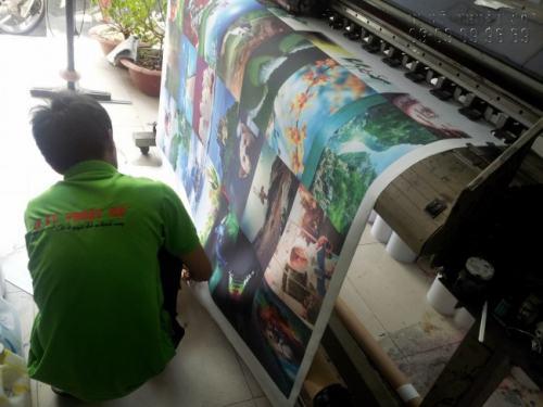 In tranh sơn dầu 3D bằng máy in khổ lớn, hiện đại cho chất lượng thành phẩm in siêu đẹp