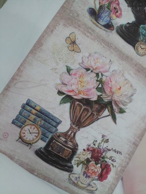 Tranh canvas 3D tĩnh vật và hoa trang trí phòng khách tuyệt đẹp