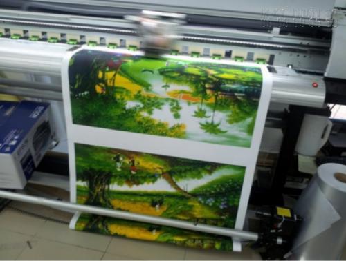 In tranh sơn dầu 3D chất lượng cao tại In Kỹ Thuật Số