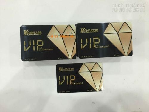 Thẻ nhựa VIP in tại In Kỹ Thuật Số