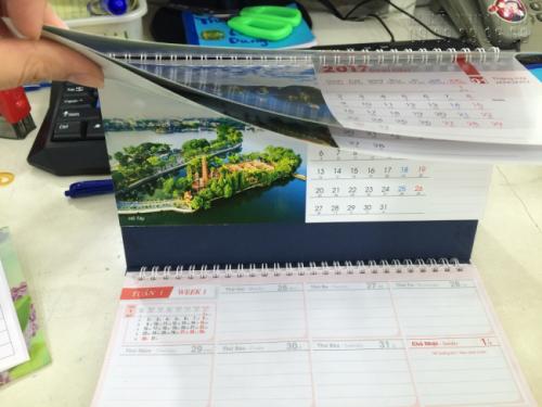 Mẫu lịch để bàn 2021 - Chủ đề Danh lam Thắng cảnh Việt Nam 1