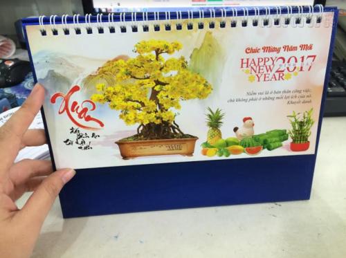 In lịch Tết Đinh Dậu (2017) làm lịch để bàn độc đáo, 968, Nguyễn Liên, InKyThuatso.com, 21/11/2016 10:04:02