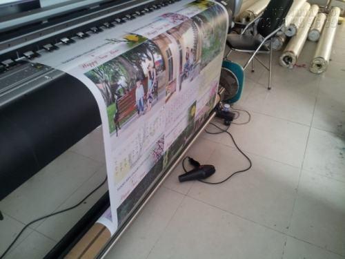 In Kỹ Thuật Số tiến hành in ấn các loại lịch tết 2017 bằng máy in Mimaki Nhật Bản kỹ thuật cao