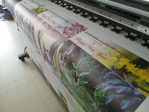 In lịch tết Đinh Dậu với hình ảnh siêu đẹp, ấn tượng, màu sắc tươi sáng, in ấn bằng máy in Mimaki Nhật hiện đại ngay tại InKyThuatSo