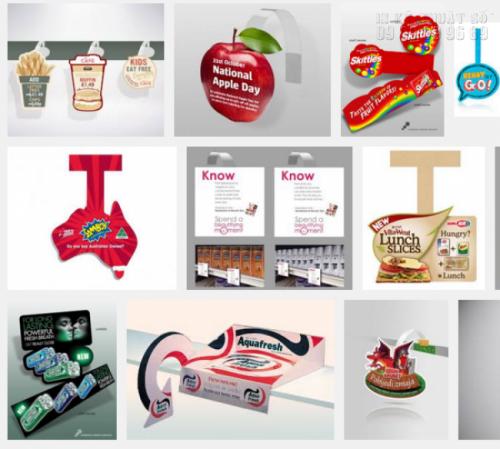 Công ty InKyThuatSo nhận in nhanh chóng wobbler thân nhựa cực đẹp, giá rẻ cho mọi khách hàng