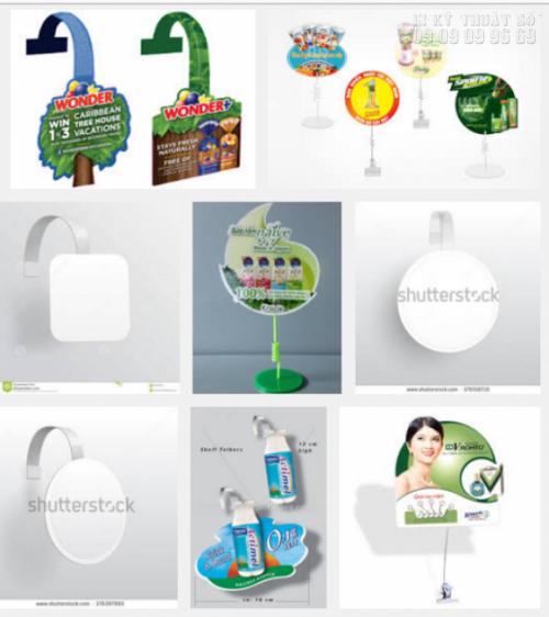 In wobbler các loại làm quảng cáo đẹp, thu hút và tạo ấn tượng nhất cho khách hàng