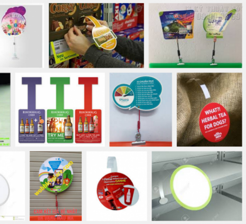 Sử dụng wobbler làm quảng cáo là ý tưởng tuyệt vời và mang lại hiệu quả nhất cho bạn