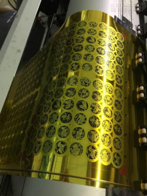 In tem vàng decal lấy liền cực đẹp tại Công ty TNHH In Kỹ Thuật Số