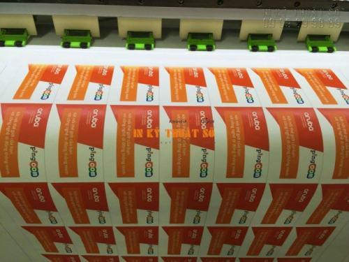In tem nhãn Decal PP chất lượng cao, in đẹp và in nhanh chóng tại Công ty TNHH In Kỹ Thuật Số - Digital Printing thực hiện in ấn Decal PP bằng máy in hiện đại Nhật Bản cho màu in đẹp, nội dung in rõ ràng