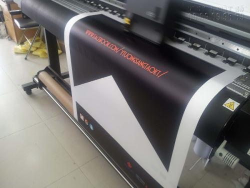 Thực hiện in Decal cán màng chất lượng cao, mực in không bị nhem, in màu đẹp bằng máy in phun Nhật Bản sử dụng công nghệ in ấn tân tiến nhất hiện nay
