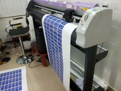 Bế tem decal sữa, decal các loại bằng máy bế Decal chuyên nghiệp Mimaki hiệu Nhật Bản