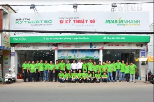 Tiến hành đặt in Decal trang trí nhanh chóng tại trụ sở Công ty TNHH In Kỹ Thuật Số tại 365 Lê Quang Định, Phường 5, Quận Bình Thạnh, Tp.HCM.
