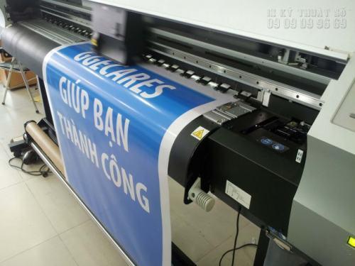 Thực hiện in Decal lưới, in Decal các loại bằng máy in hiện đại khổ lớn Nhật Bản cho chất lượng in ấn cao