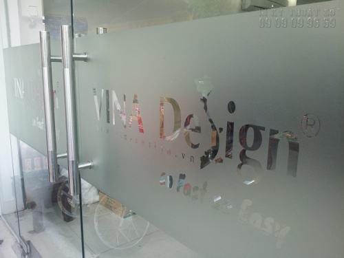 In Decal dán kính , hàng đẹp chất lượng cao TP.HCM