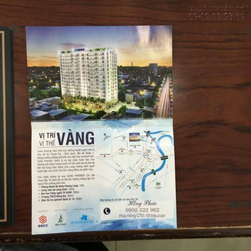 In Tờ rơi quảng cáo cho Công ty bất động sản kèm theo bản đồ chỉ vị trí địa lý hiện đại