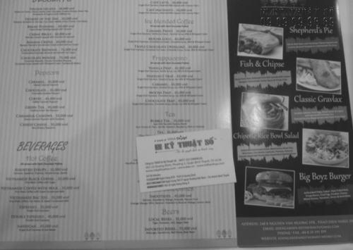 Tờ rơi trắng đen giá rẻ, in nhanh chóng ngay tại Công ty TNHH In Kỹ Thuật Số - Digital Printing