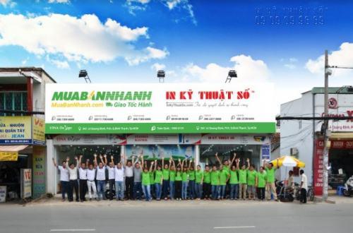 Trực tiếp đến ngay 365 Lê Quang Định, Phường 5, Quận Bình Thạnh, Tp.HCM, trung tâm in ấn của Công ty TNHH In Kỹ Thuật Số để đặt in tờ rơi nhanh