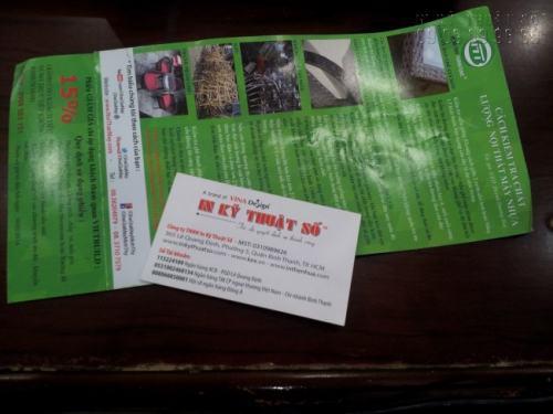 In Tờ rơi 500 tờ giá rẻ, in ấn đẹp và giao hàng tận nơi cho khách hàng với Công ty TNHH In Kỹ Thuật Số - Digital Printing