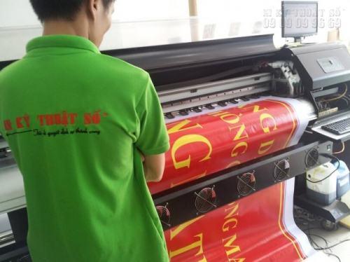 Dày dạn 15 năm kinh nghiệm, sản phẩm được in Hiflex trên máy in khổ lớn tại In Kỹ Thuật Sô luôn cho ra chất lượng đẹp, theo đúng yêu cầu khách hàng.