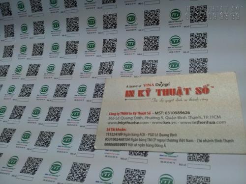 In Decal giấy giá rẻ làm tem nhãn sản phẩm, chất lượng in đẹp, giá rẻ tại TpHCM
