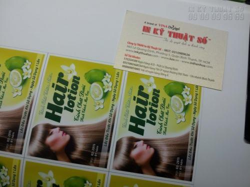 Công ty TNHH In Kỹ Thuật Số chuyên nhận đặt in tem nhãn dán hàng hóa giá rẻ nhất thị trường, in ngay tại xưởng, giao hàng nhanh chóng