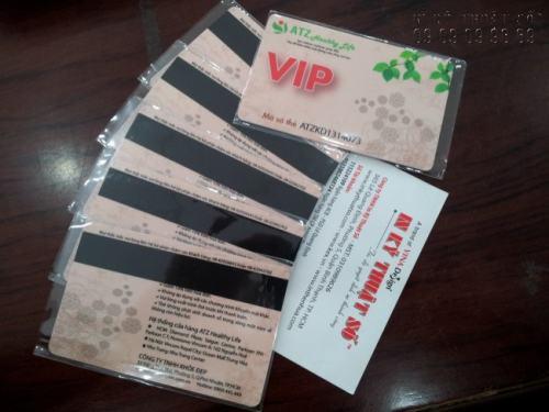 In thẻ nhựa kéo dải băng từ chất lượng cao, đảm bảo tính an toàn thông tin cho chủ thẻ cao, in nhanh chóng tại Công ty TNHH In Kỹ Thuật Số