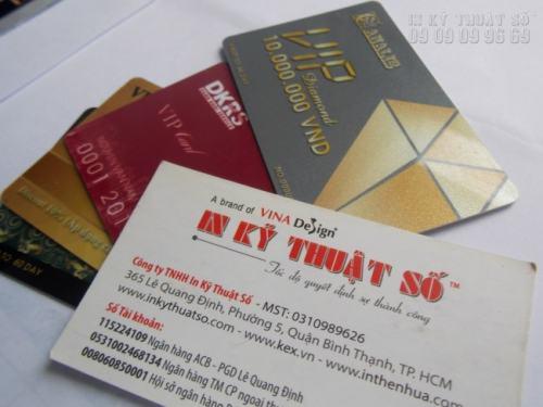 In thẻ nhựa TPHCM nhanh chóng, in sắc nét và trực tiếp ngay tại xưởng in của công ty
