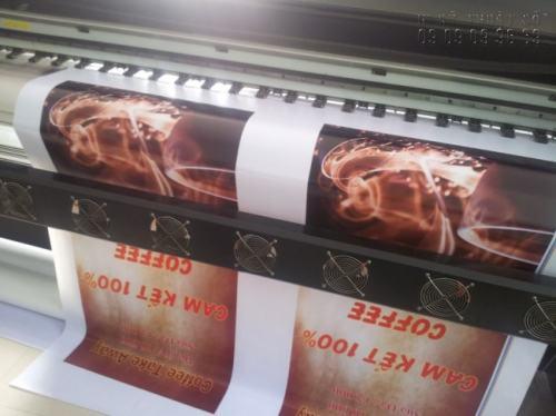 Máy in khổ lớn, chuyên in hiflex hộp đèn chắc chắn sẽ không làm khách hàng thất vọng về chất liệu và cả mẫu mã, màu sắc.