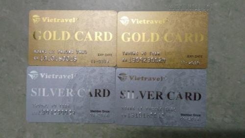 In thẻ nhựa Vip trên chất liệu PVC cao cấp, mang đến sự sang trọng cho người dùng thẻ